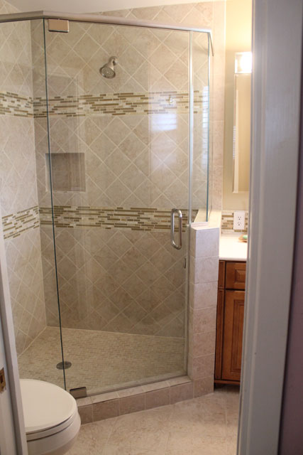 Custom Stand-in Shower   Home Remedy Houston