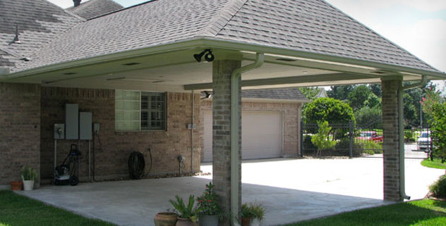 Houston Carport Installation