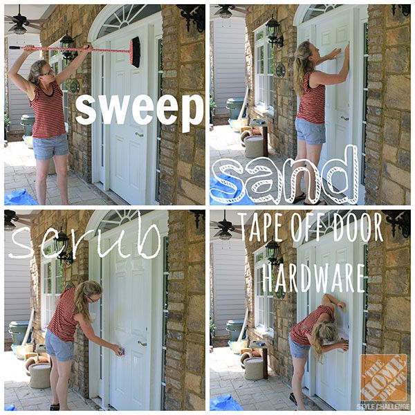 Diy Painting Your Front Door For Fall Home Remedy Houston